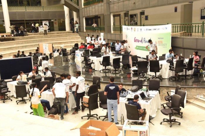 Smart India Hackathon-2019, Hardware Edition kicked off at REVA University on Monday.