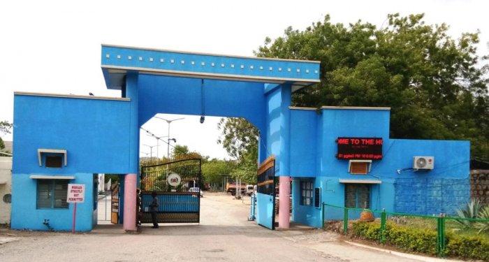 The Hutti Gold Mines Company Limited in Raichur district. DH Photo