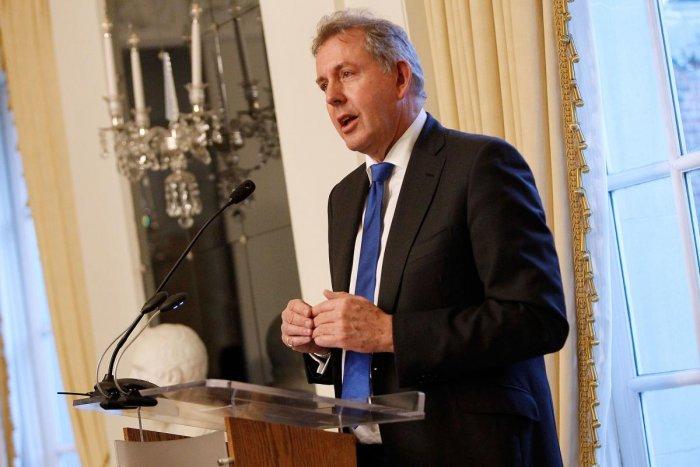 British Ambassador Kim Darroch. Reuters photo
