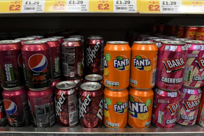 Consumption of sugary drinks has risen worldwide in the last few decades and is linked to obesity, which itself increases cancer risk. (AFP File Photo)