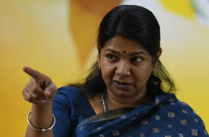 Kanimozhi was also unhappy about the govt's obsession with Hindi (AFP File Photo)