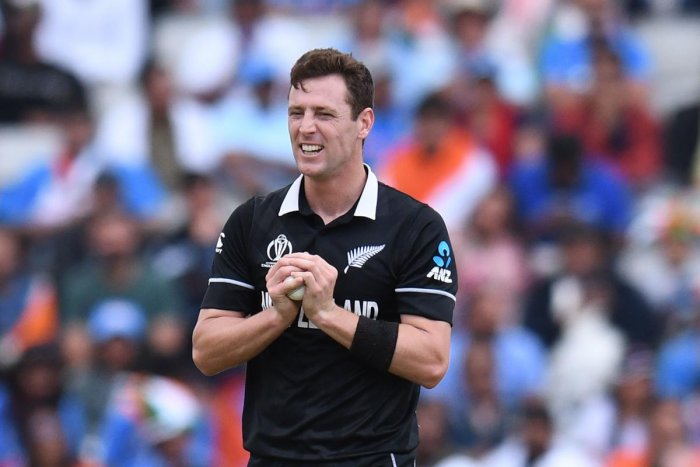 Defending a modest target of 240, the duo of Henry and Trent Boult wreaked havoc with the new ball, reducing them to 3 for five and then 4 for 24. (AFP Photo)