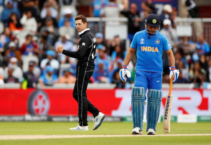 In the semifinal played over two days due to rain, the Black Caps stunned fancied India by 18 runs to reach their second successive World Cup final. (Reuters Photo)