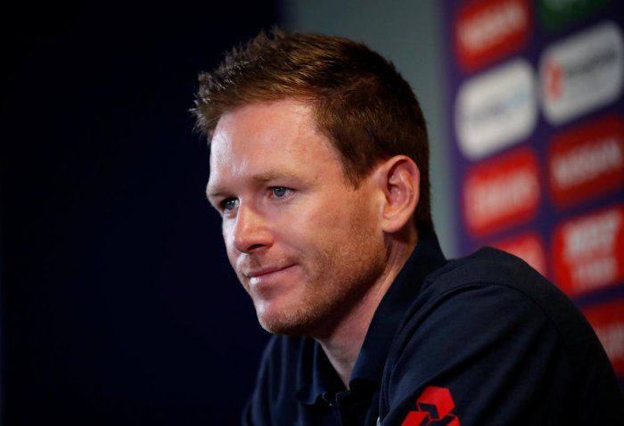 Cricket - ICC Cricket World Cup Semi Final - England Press Conference - Edgbaston, Birmingham, Britain - July 10, 2019 England's Eoin Morgan during the press conference Action Images via Reuters/Andrew Boyers