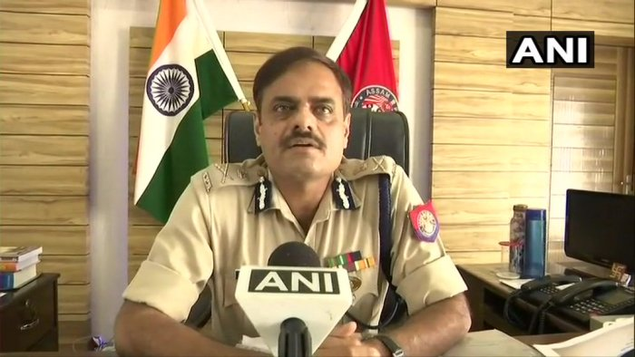Deepak Kumar,Commissioner of Police, Guwahati  said case registered against 10 people which states that their social media posts might create enmity in society. No arrests made yet. Probe on. (ANI/Twitter)