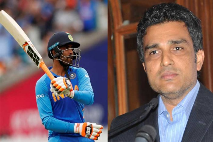 Ravindra Jadeja's performance in the World Cup semi-final opened a few eyes while Sanjay Manjrekar tasted hat.