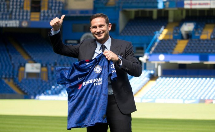 Chelsea's newly appointed English head coach Frank Lampard. (AFP Photo)