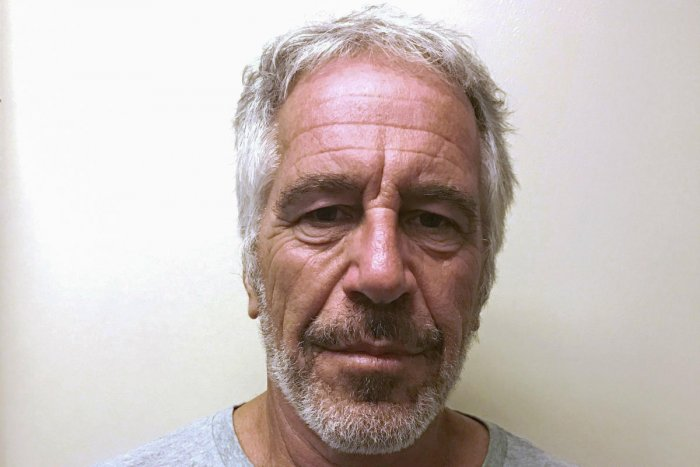 U.S. financier Jeffrey Epstein appears in a photograph taken for the New York State Division of Criminal Justice Services' sex offender registry. (Handout via Reuters)