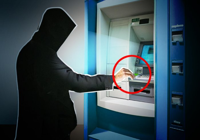 Two people lose money using ATM with skimmer device | Deccan
