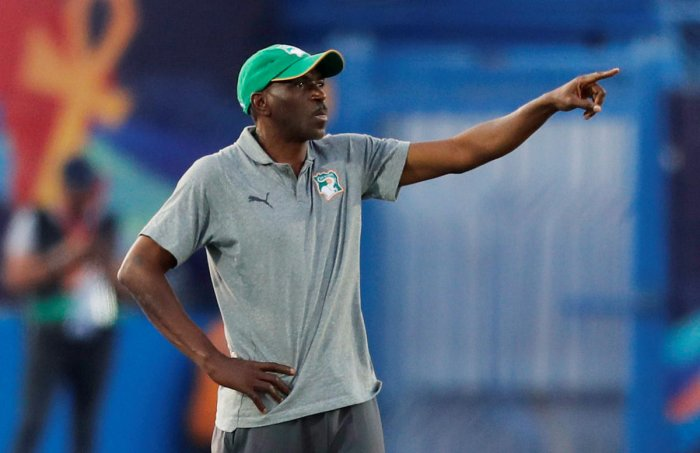 Ivory Coast coach Ibrahim Kamara's team selections raised eyebrows throughout the Africa Cup of Nations but even after their quarter-final exit to Algeria. (Reuters Photo)