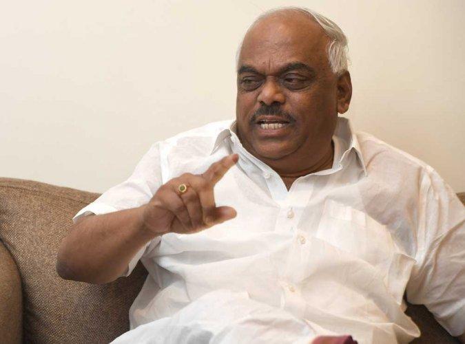 Karnataka Assembly Speaker K R Ramesh Kumar. DH file photo