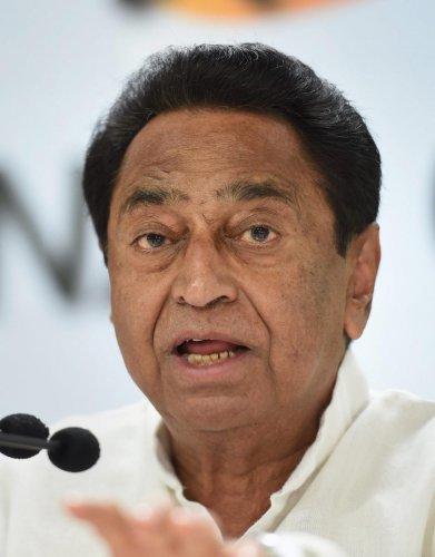 Madhya Pradesh Chief Minister Kamal Nath (PTI File Photo)