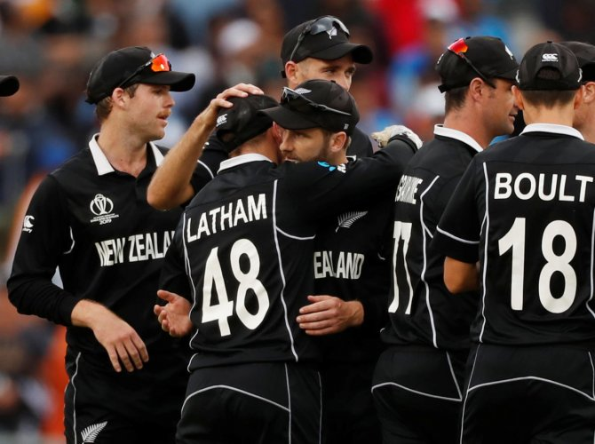 New Zealand will look to avoid a repeat of the 2015 World Cup final. Photo credit: Reuters