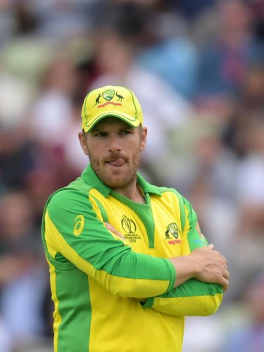 Australia's captain Aaron Finch said despite the semifinal exit, he is happy with his team's progress over the last 12 months. AFP