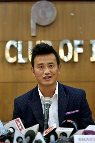 Former football captain Bhaichung Bhutia lauded India's performance in the ICC Cricket World Cup. (PTI File Photo)