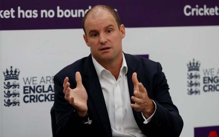 """Former England director of cricket Andrew Strauss was overcome with emotion after the team he helped build """"obliterated"""" Australia to reach the World Cup final. (Reuters File Photo)"""