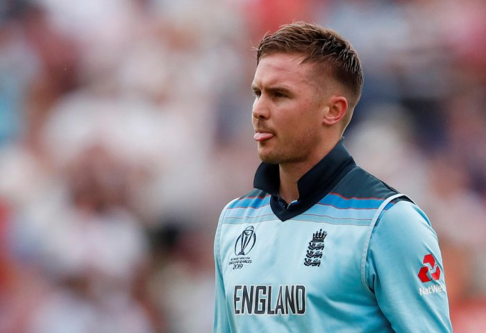 Roy was fined for breaching Level One of the ICC Code of Conduct during the match at Edgbaston on Thursday. (Reuters Photo)