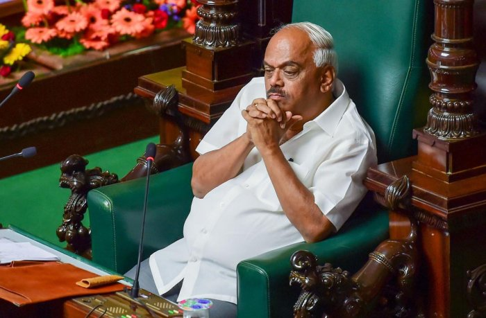 Karnataka Assembly Speaker KR Ramesh Kumar. (PTI file photo)