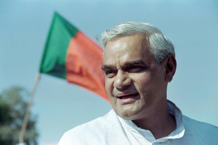 Atal Bihari Vajpayee (AFP File Photo)