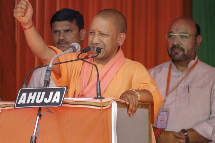 Adityanath was addressing the inaugural ceremony of the 'Smile Mashal Jyoti' event at his residence here. (PTI File Photo)