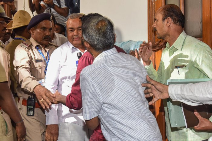 Reddy said that his daughter Sowmya Reddy was free to take any decision. File photo/S K Dinesh