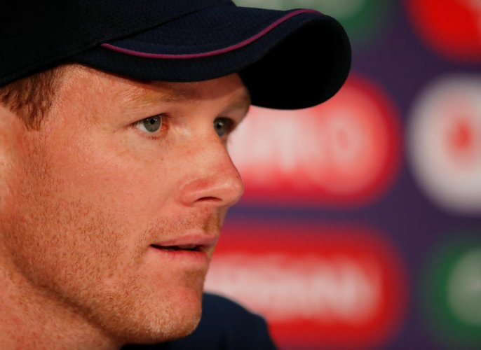Cricket - ICC Cricket World Cup Final - England Press Conference - Lord's, London, Britain - July 13, 2019 England's Eoin Morgan during the press conference Action Images via Reuters/Andrew Boyers