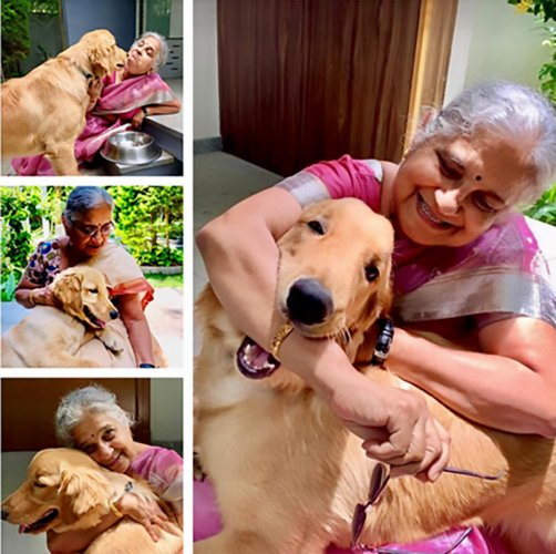 "The books will talk about Gopi, whom Sudha Murty describes as ""the joy of my life"". TWITTER"