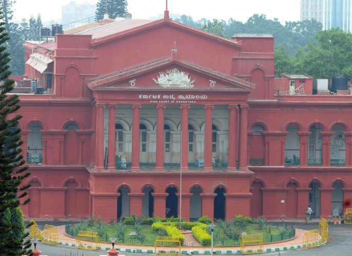 The Karnataka High Court. DH file photo