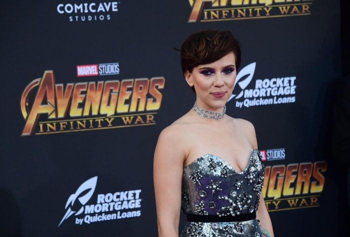 "Scarlett Johansson has clarified her recent comments about politically correctness and casting in Hollywood as controversy threatened to brew, claiming her remarks were ""edited for click bait"" and ""widely taken out of context"". AFP file photo"