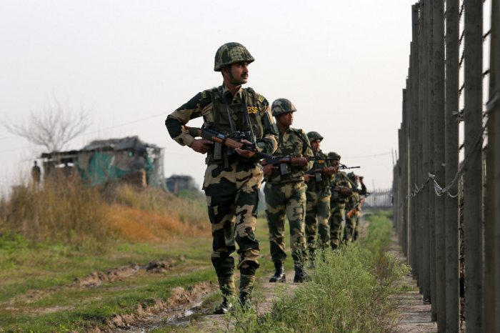 A suspected Pakistani intruder was shot dead by BSF personnel while he was trying to cross the International Border in Jammu and Kashmir's Samba district on Monday, officials said. Reuters file photo for representation only.