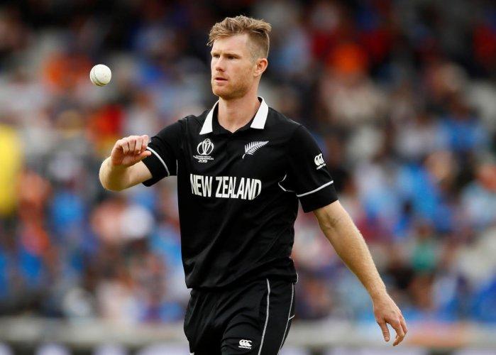 New Zealand's Jimmy Neesham (Reuters Photo)