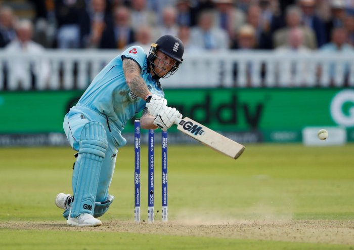 MAN OF STEEL: From being involved in a drunken brawl to a man of the match performance in the World Cup final, Ben Stokes has turned his career around in splendid style. REUTERS