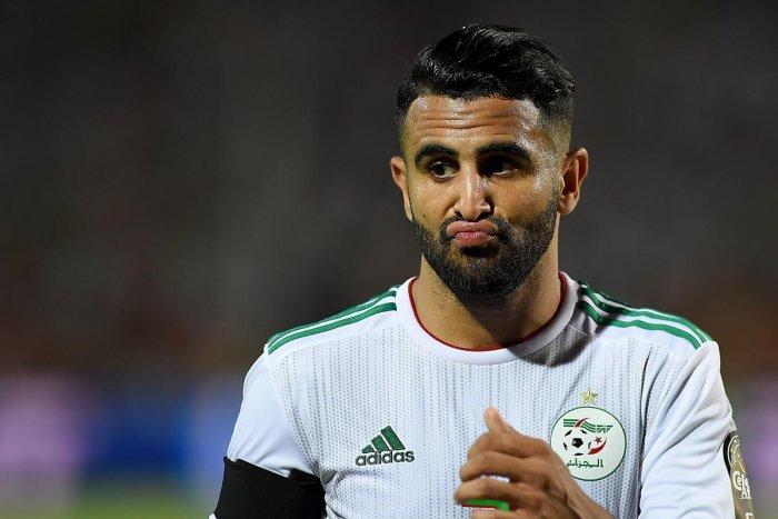 Algeria's forward Riyad Mahrez (AFP Photo)