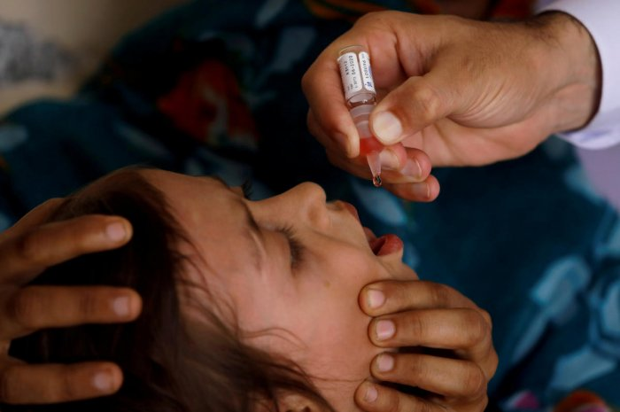 "Last year, 19.4 million children were ""not fully vaccinated"", the World Health Organization and the UNICEF children's agency said in an annual report -- up from 18.7 million in 2017 and about 18.5 million the year before. (Reuters File Photo)"