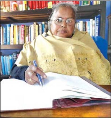 Bormudoi had begun her literary journey by writing poems but later made a mark for herself through her short stories and novels. (Image courtesy: Wikipedia)