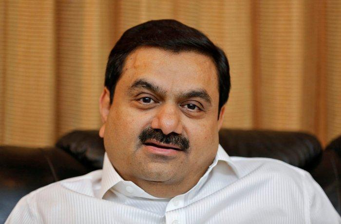 Chairman of Adani Group Gautam Adani. (Reuters Photo)