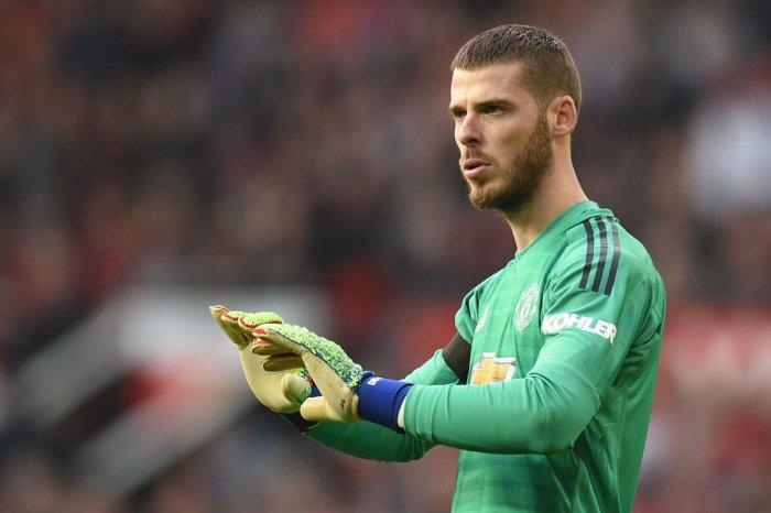 Manchester United's Spanish goalkeeper David de Gea (AFP File Photo)