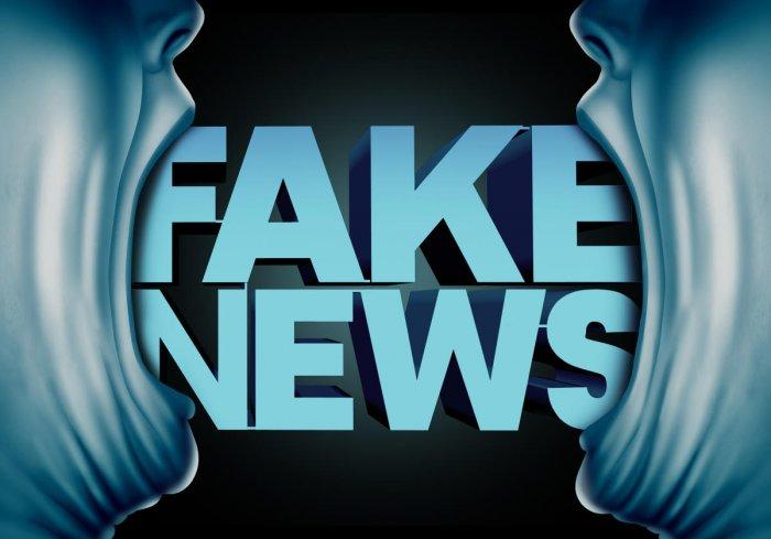 Fake news is seeping into traditional media via social media platforms (DH Photo)