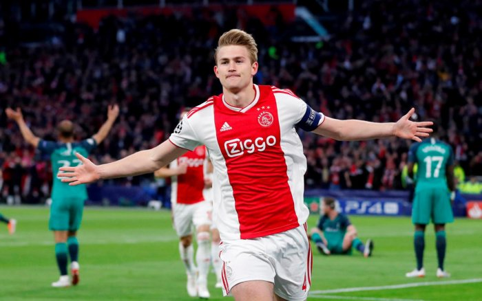 de Ligt is one of the most sought after young players on the planet right now (Reuters Photo)