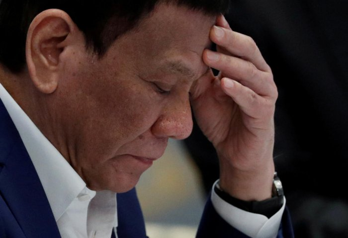 Duterte bristles at any Western condemnation of his signature campaign, which has killed thousands and critics say could amount to crimes against humanity. Reuters