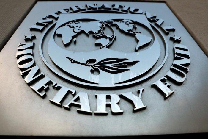The International Monetary Fund (IMF) logo (Reuters Photo)