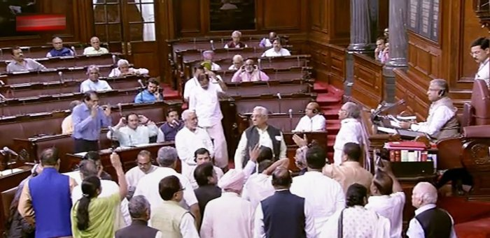 Sources said the Opposition leaders have conveyed to the government that all Bills cannot be rushed through without adequate scrutiny by Parliamentary Standing Committees. (PTI Photo)