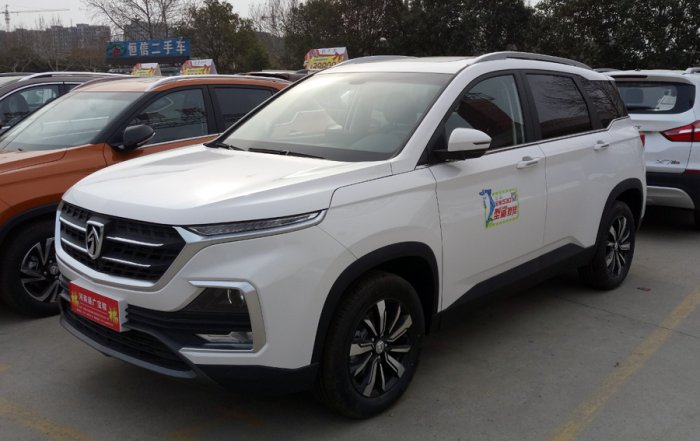 The Chinese Baojun 530. The MG Hector in India is expected to have a similar look looking at the preview pictures from the company. Picture credit: commons.wikimedia.org/ Navigator84