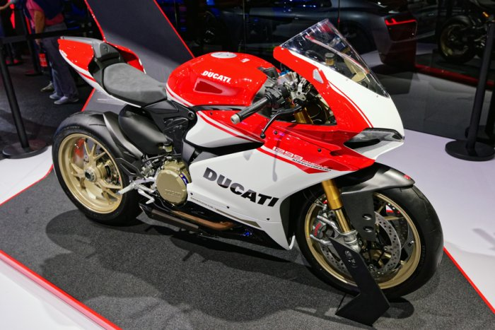 Ducati 1299 Panigale, Image credit: kn.wikipedia.org/ Thesupermat