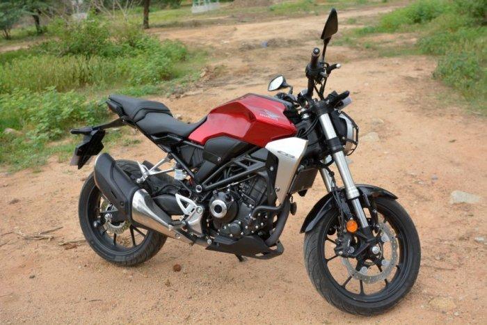 Honda CB300R. Picture credit: Vivek Phadnis/ DH Photo
