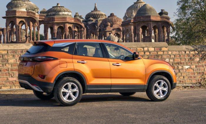 Tata Harrier, Picture credit: Tata Motors