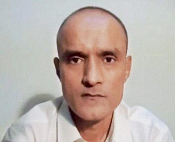 "Jadhav, 49, a retired Indian Navy officer, was sentenced to death by the Pakistani military court on charges of ""espionage and terrorism"" after a closed trial in April 2017. His sentencing evoked a sharp reaction in India. (PTI File Photo)"