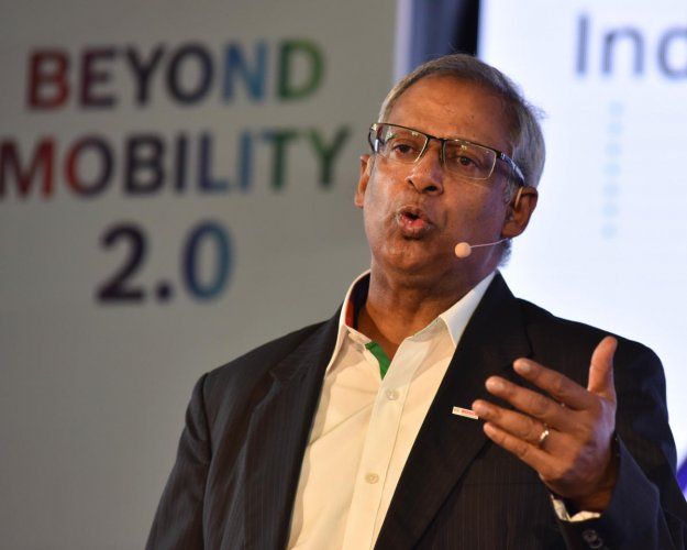 Soumitra Bhattacharya, Managing Director, Bosch Limited and President Bosch Group India. Photo credit: DH Photos