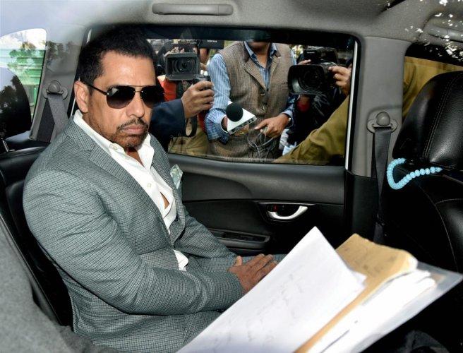 Businessman Robert Vadra (PTI Photo)