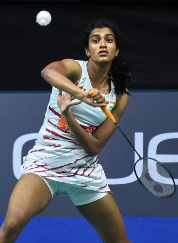 LOOKING AHEAD: P V Sindhu has had a less than ideal season so far compared to her previous performances. AFP